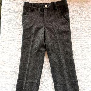 Baby CZ boys' wool blend dress pants